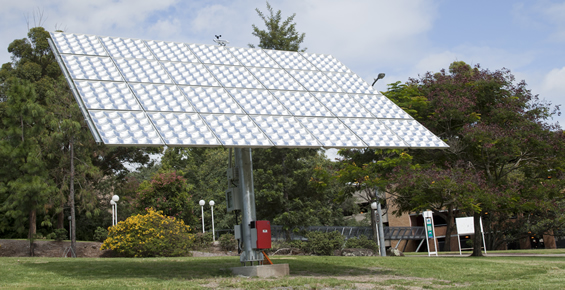 Picture of Concentrated PV at UQ St Lucia Campus