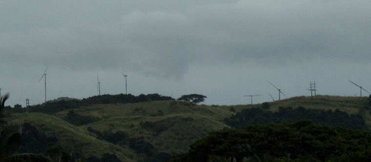 Picture of Wind Turbines in Fiji near Nadi